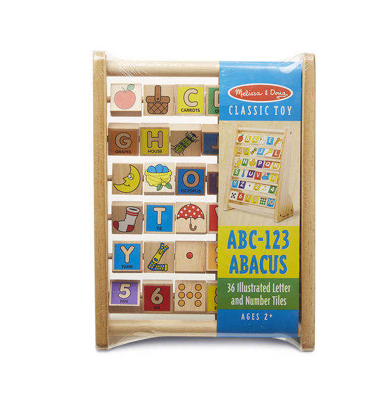 Melissa & Doug - ABC-123 Abacus - Toybies